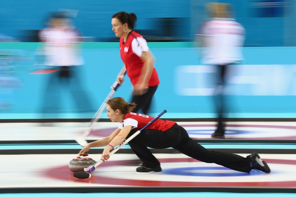 USA women's curling