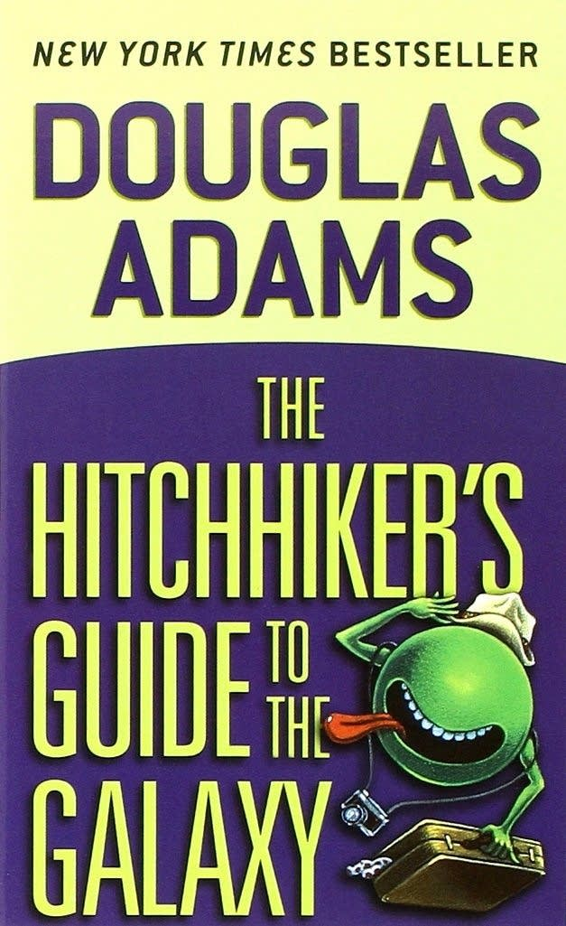 'The Hitchhiker's Guide to the Galaxy' by Douglas Adams