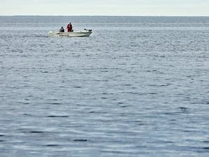 Anglers try their luck fishing Wednesday.