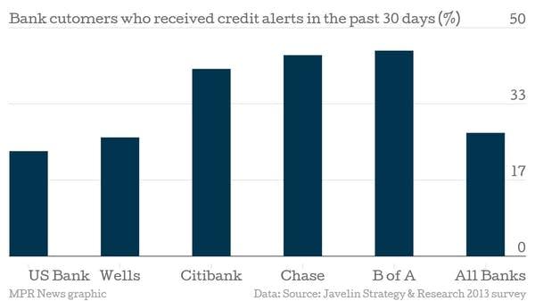 Credit alerts