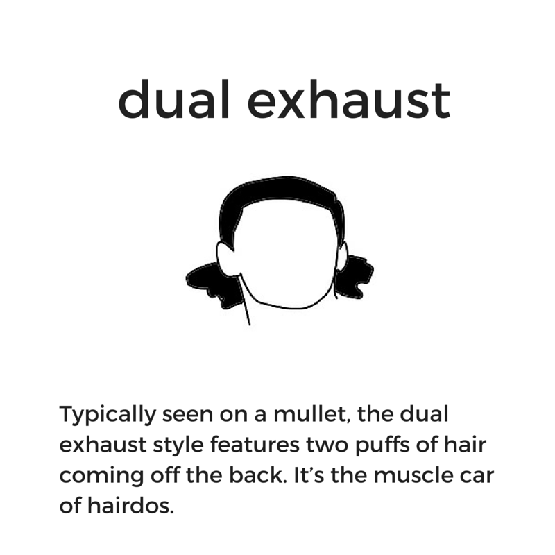 Hockey hair: What is a dual exhaust?