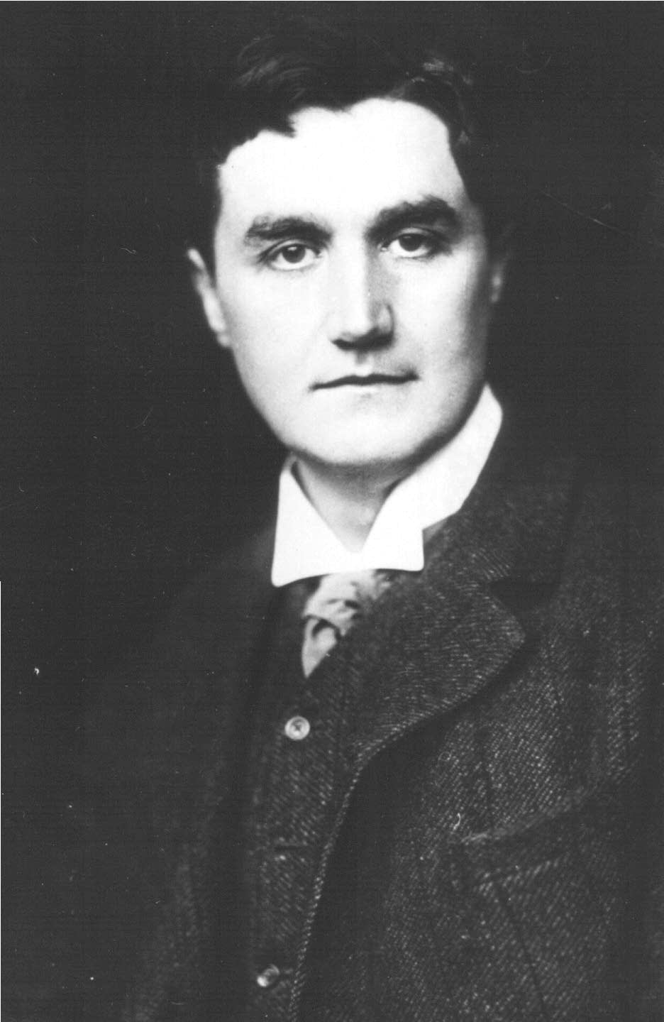 Ralph Vaughan Williams as a young man