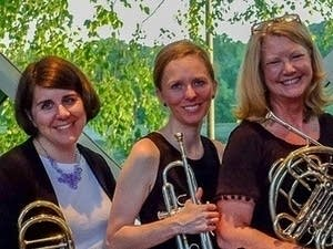 Brass Lassie is a 10-piece band playing Scottish, Irish, and French music.