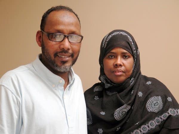 Abdihamid Yusuf and Ayan Farah