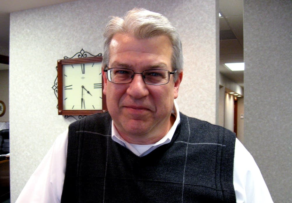 Voter Mike Kula