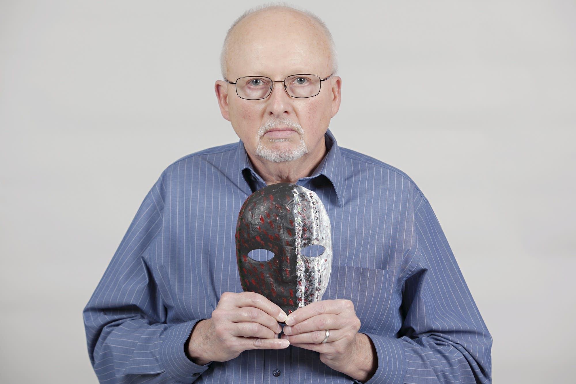 Army veteran Kirk Jensen, 70, of Fargo, N.D.