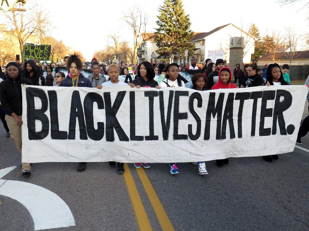 Black Lives Matter-Minneapolis protest march