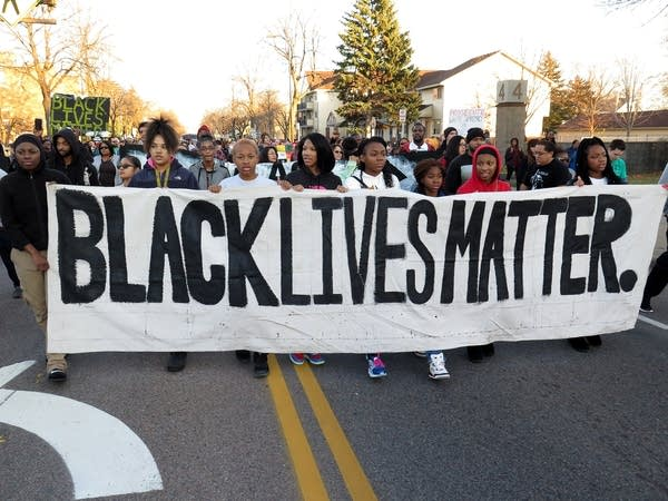 Black Lives Matter-Minneapolis protest march