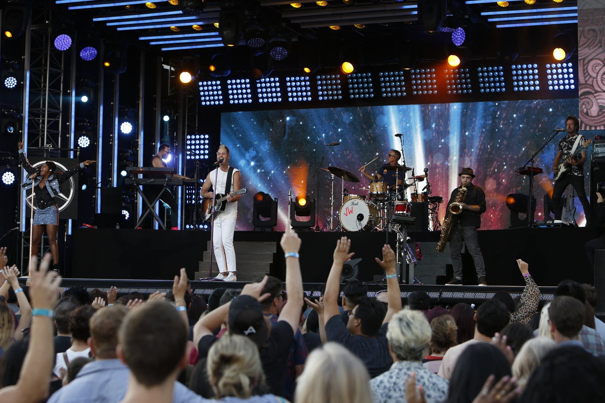 Fitz and the Tantrums perform on 'Jimmy Kimmel Live!'