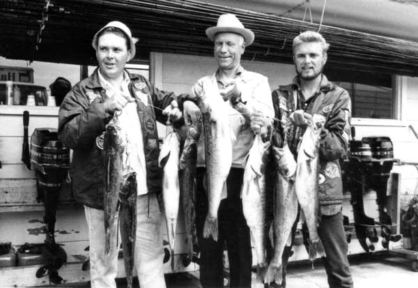Ron Lindner, Carl Lowrance, and Al Lindner in 1968