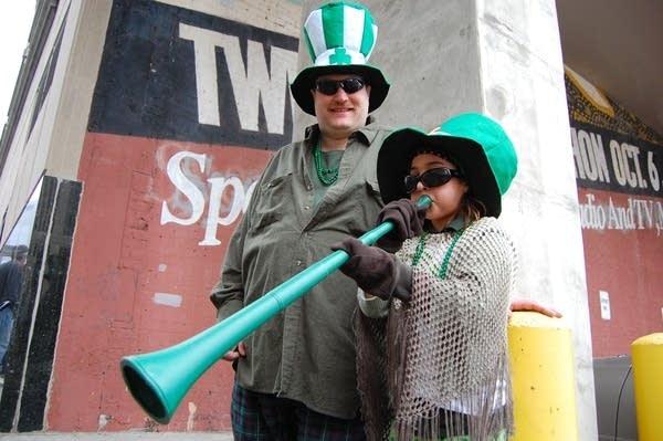 Irish horns