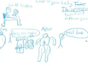 Want help explaining a medical procedure? Ask a 9-year-old.