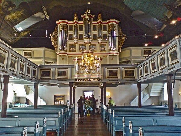 1720 Klapmeyer organ at Heiligen Geist Kirche, Barmstedt, Germany
