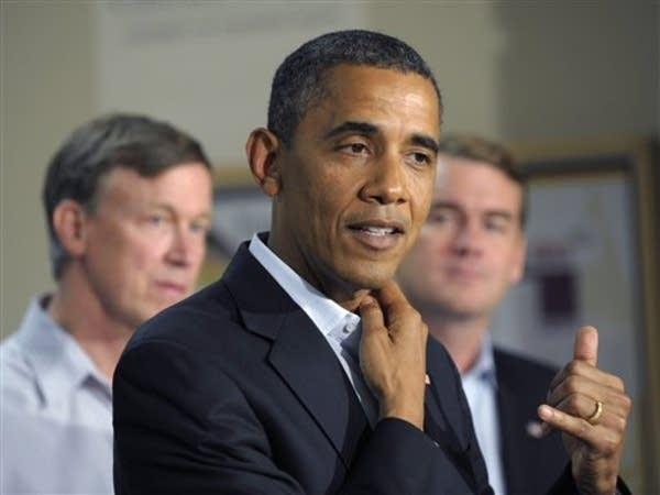 Obama met with shooting victims