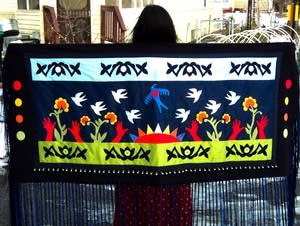 Chholing Taha's shawl