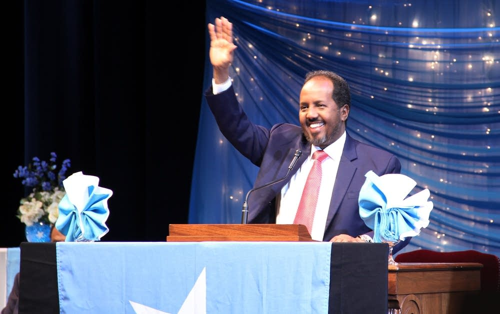 Somali President Hassan Sheikh Mohamud