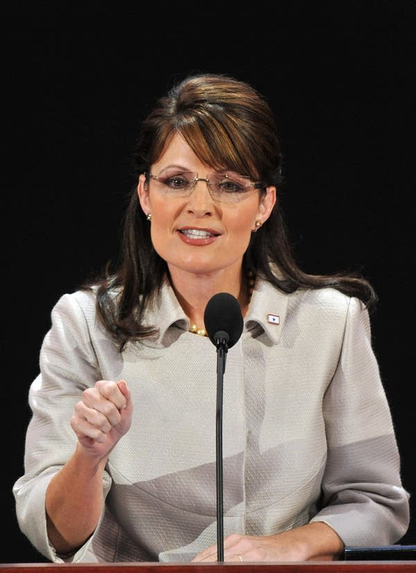 Sarah Palin, vice presidential nominee