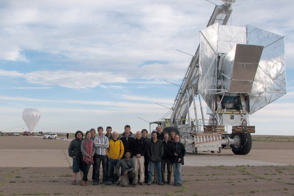 The U of M's telescope was lost then found