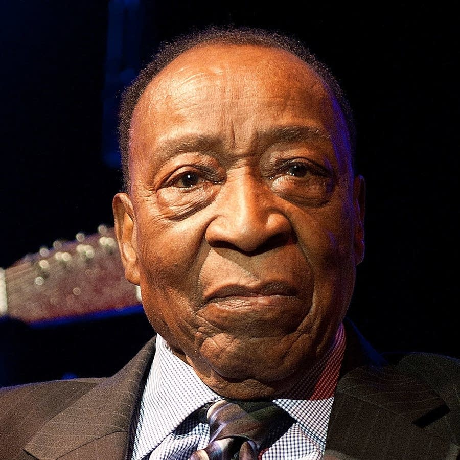 Dave Bartholomew photographed in 2013