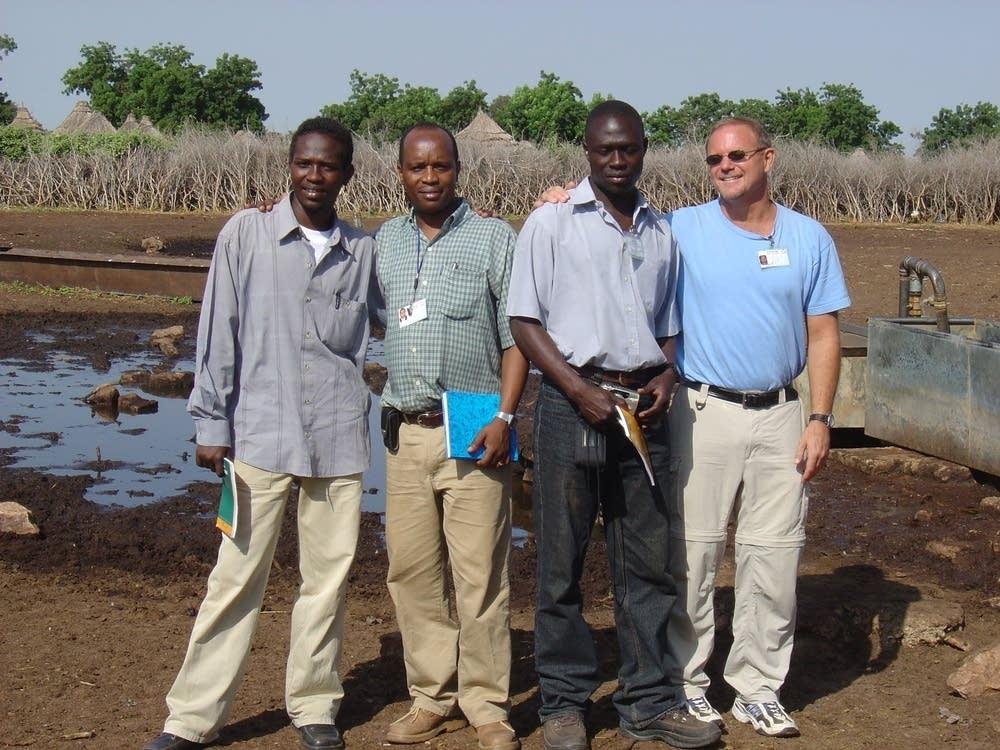 Jerry Farrell in Darfur, Sudan