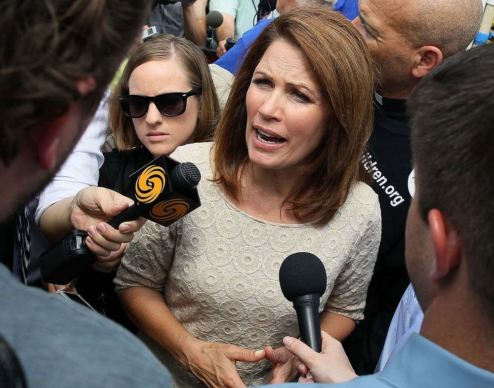 Rep. Michele Bachmann reacts to health care ruling