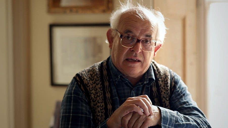 Ralph Steadman at home