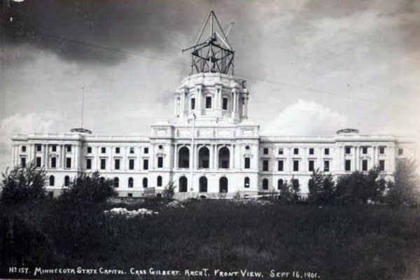 Capitol construction, 1901