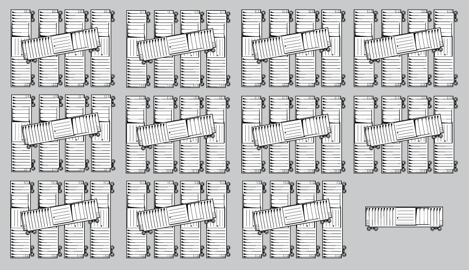 56 boxcars