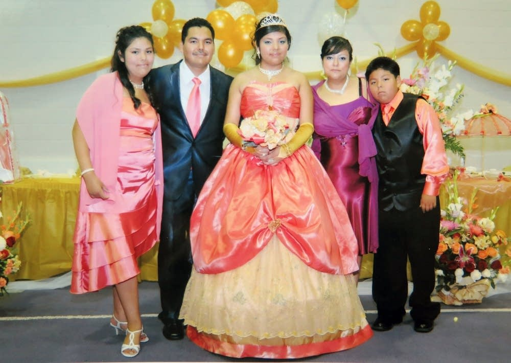 Marisol Castillo and her family