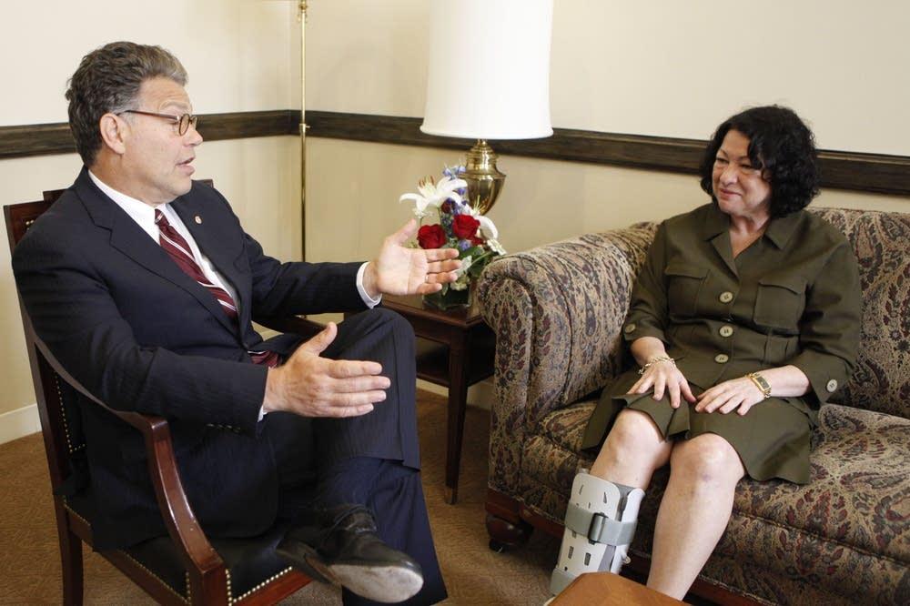 Sonia Sotomayor, Al Franken