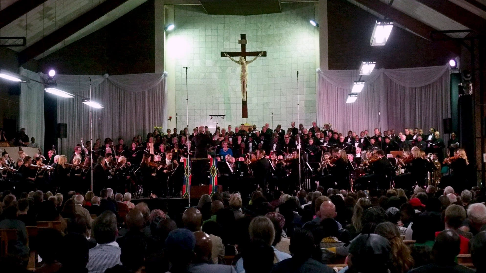 Minnesota Orchestra in South Africa: Soweto concert
