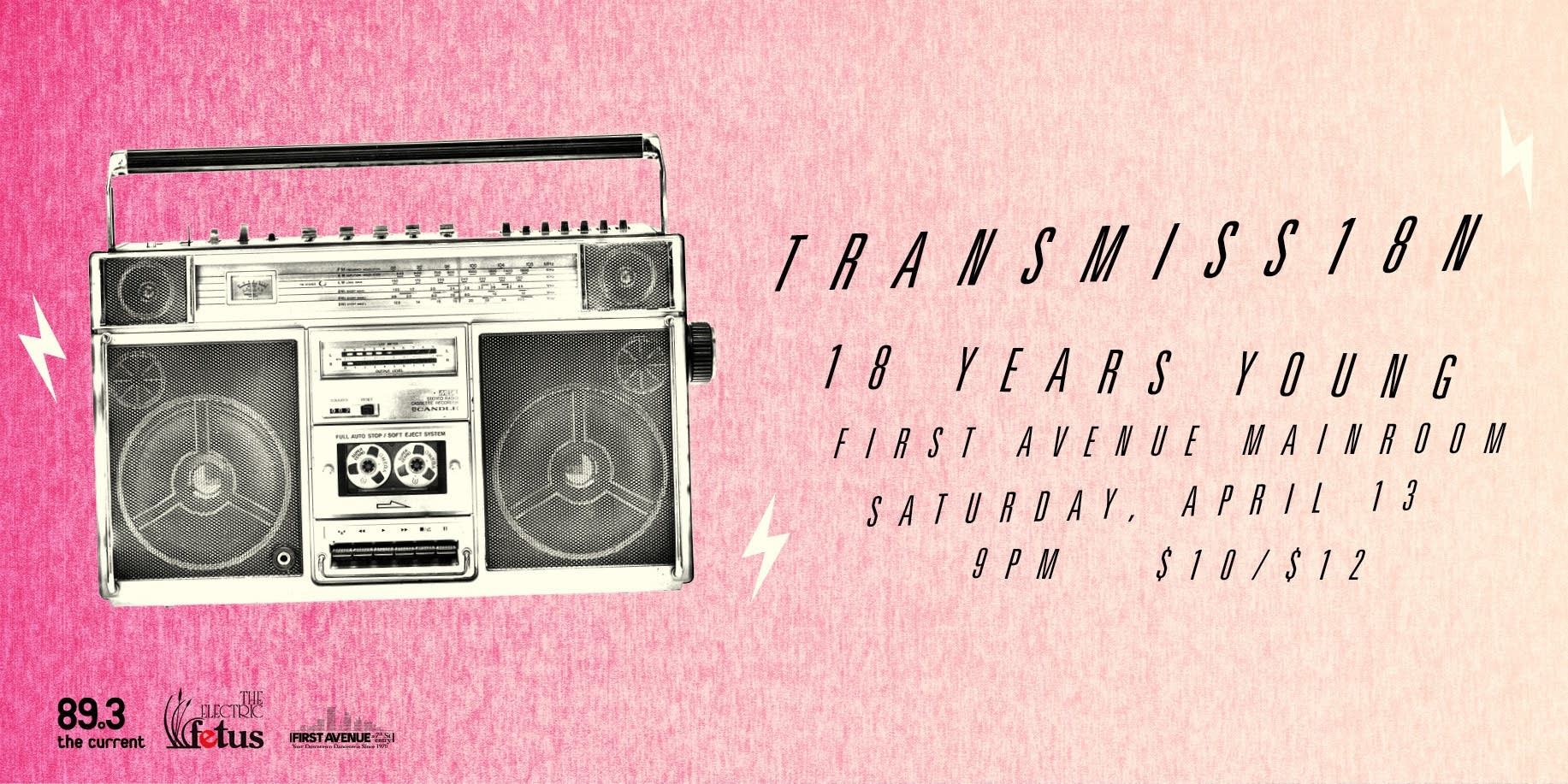 Transmission's 18th Anniversary artwork