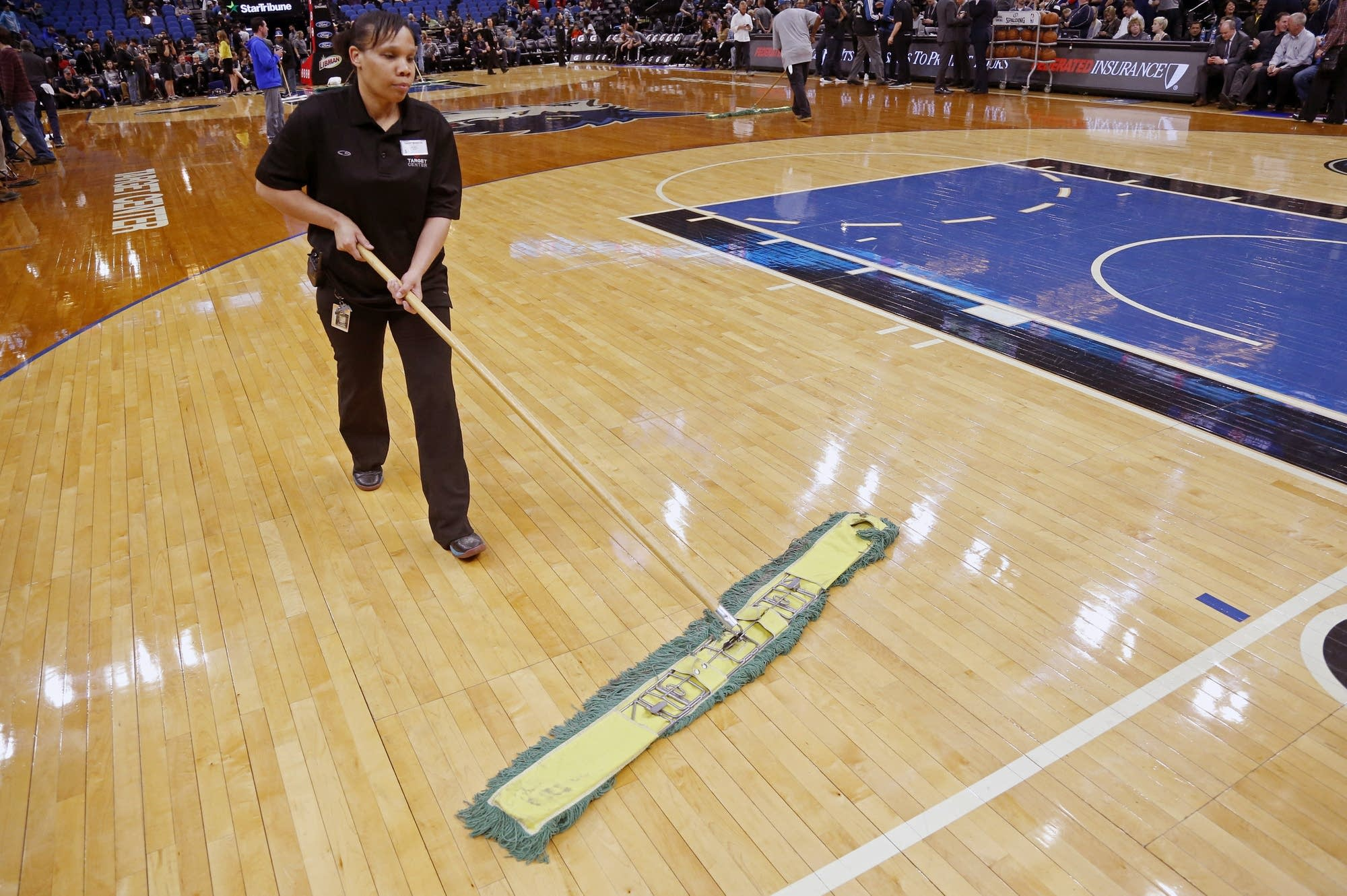 Trail Blazers Timberwolves Game Postponed By Slick Court