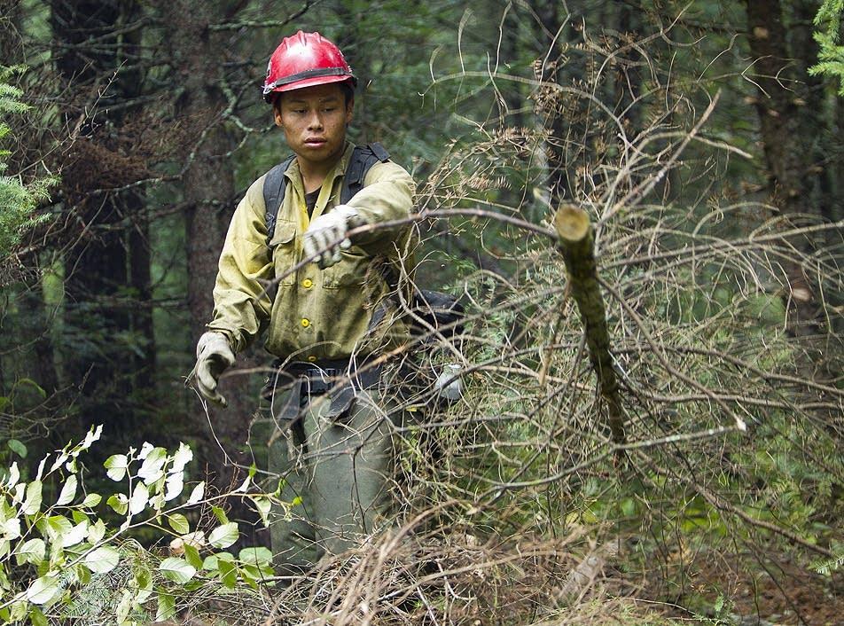 Firefighter Marcus Blackbonnett