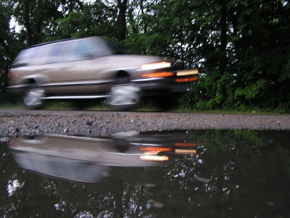 Rainfall in Stearns County