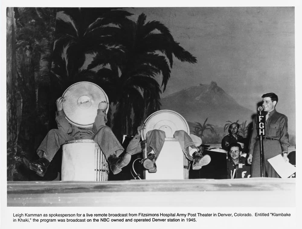 Kamman in 1945