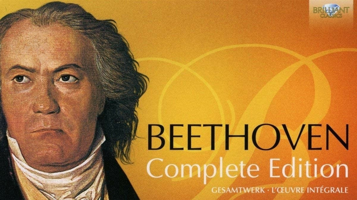 Beethoven Complete Edition Front Cover