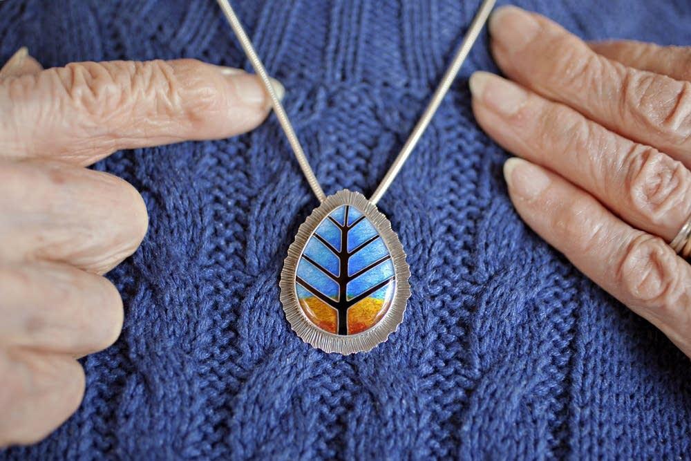 Joyce Beck's pendant