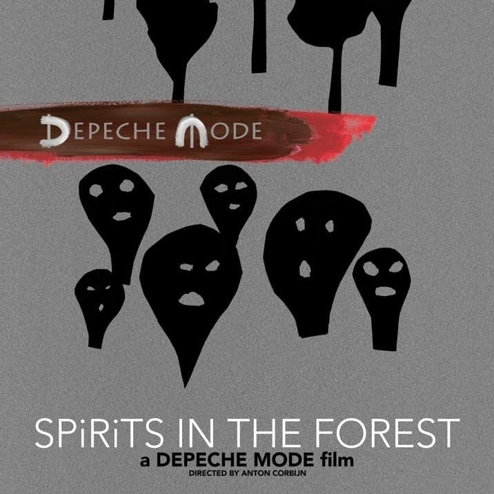 Depeche Mode - Spirits in the Forest film one sheet