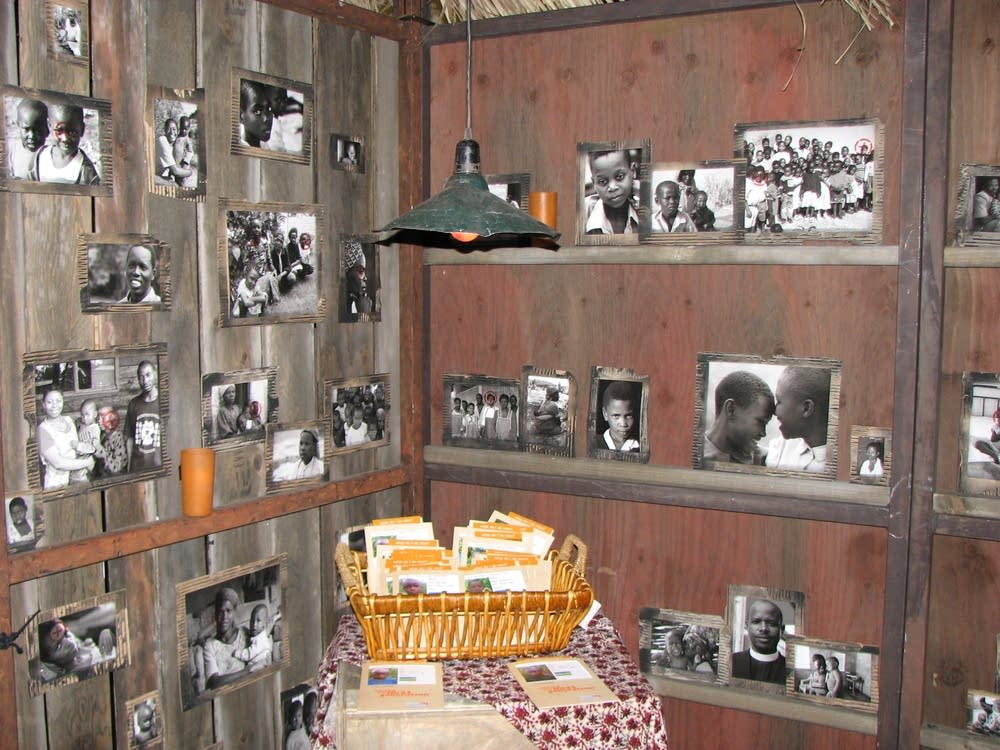 A portion of the exhibit shows families