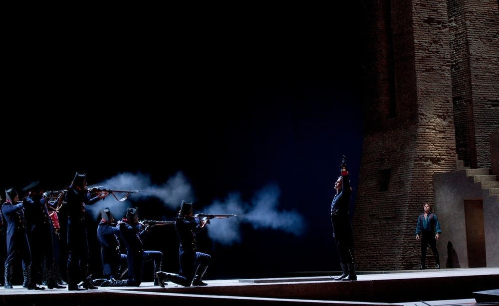 A scene from Act III of Puccini's