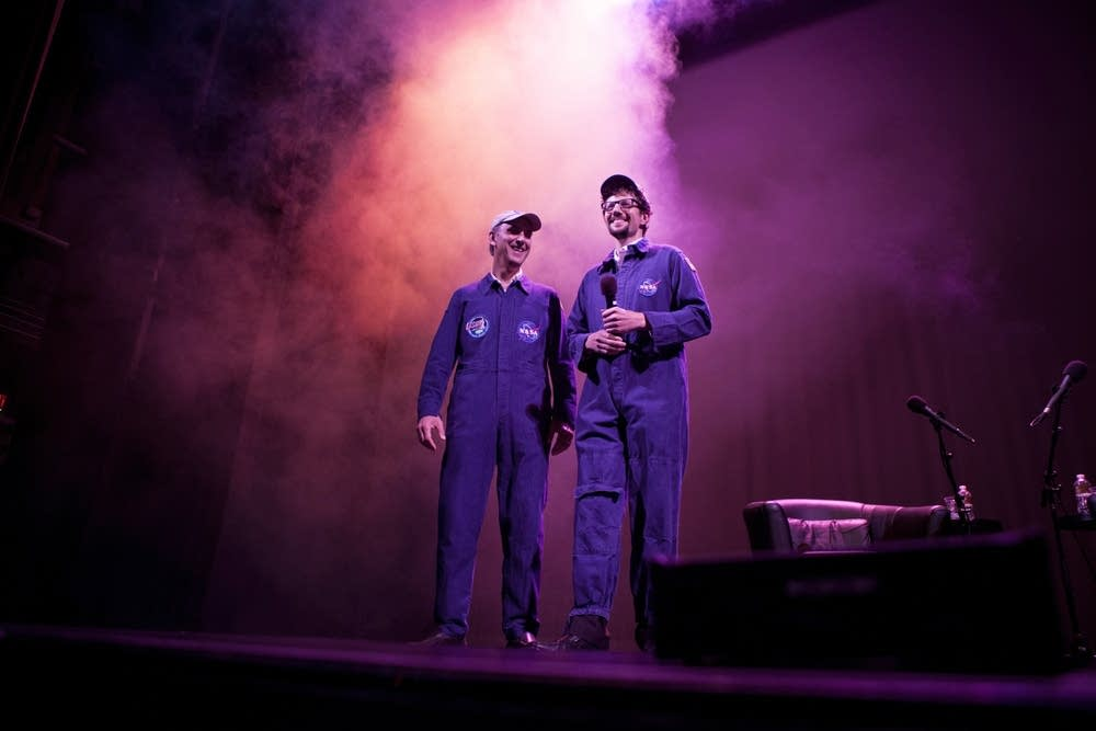 John Grotzinger and Tom Weber