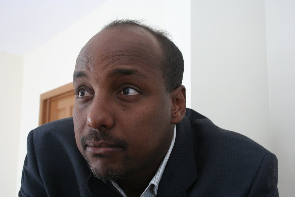 Somali activist Omar Jamal