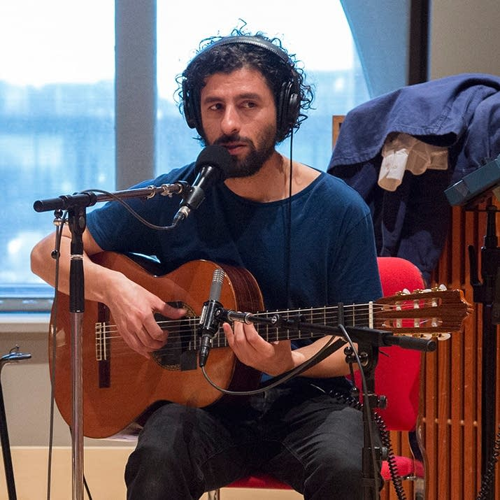Jose Gonzalez in The Current studio