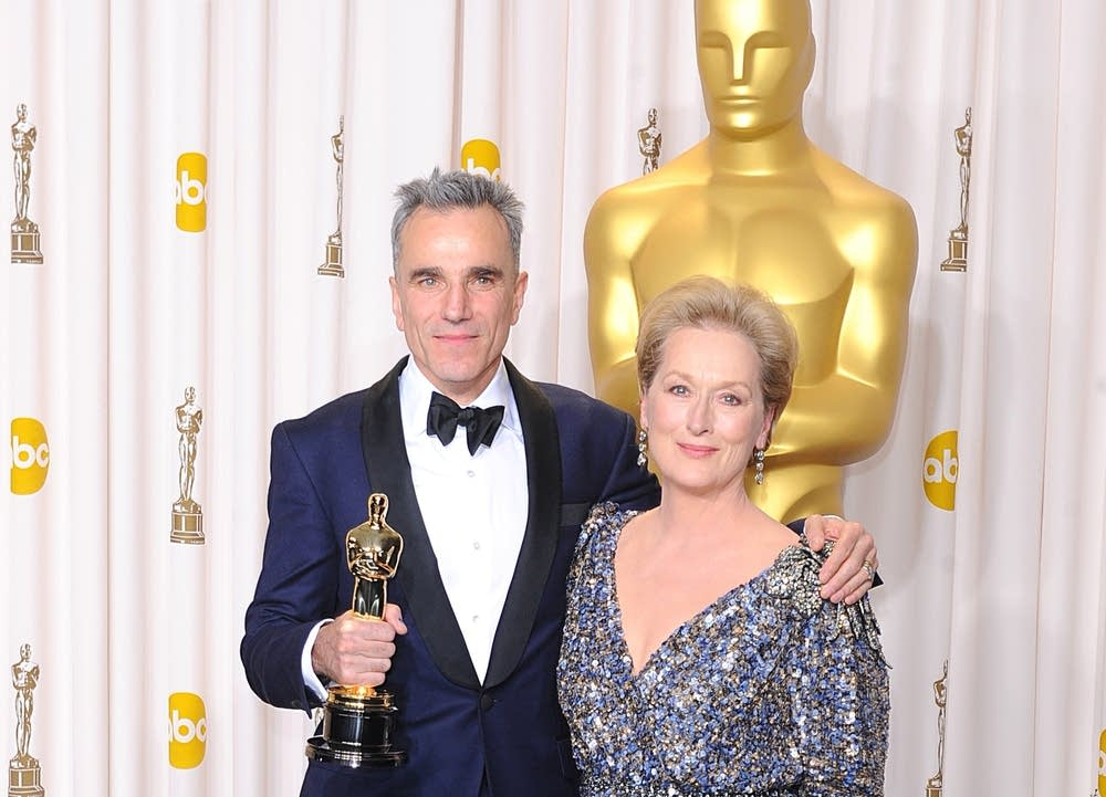 Academy Awards Los Angeles streep day-lewis