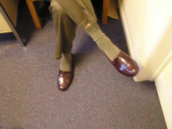 Dean's shoes