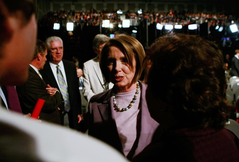 Rep. Nancy Pelosi at the final debate