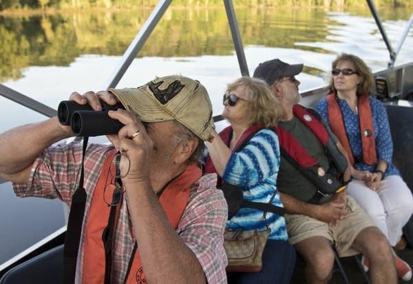 Brian Jemelka gets a closer look at wildlife.