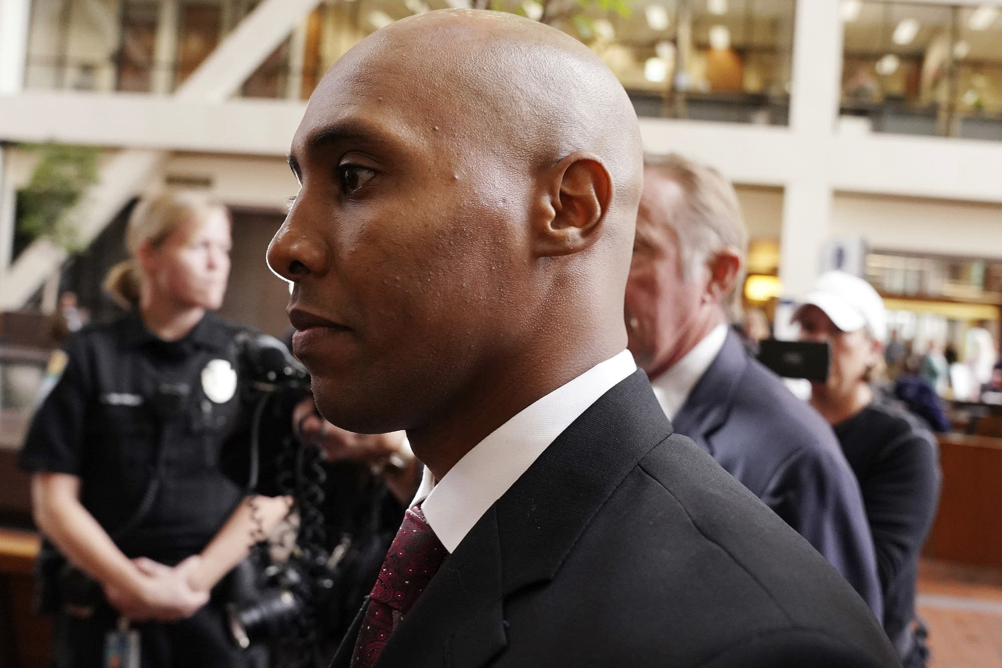 Mohamed Noor arrives at court hearing