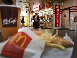 A McDonald's restaurant in Illinois